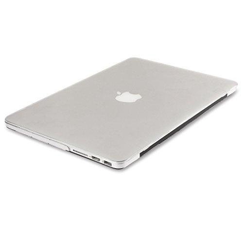 MacBook Air 13 Case Transparent Frosted Plastic Hard Shell Case Cover for Apple MacBook Air 13 Inch A1369/ A1466 - 5