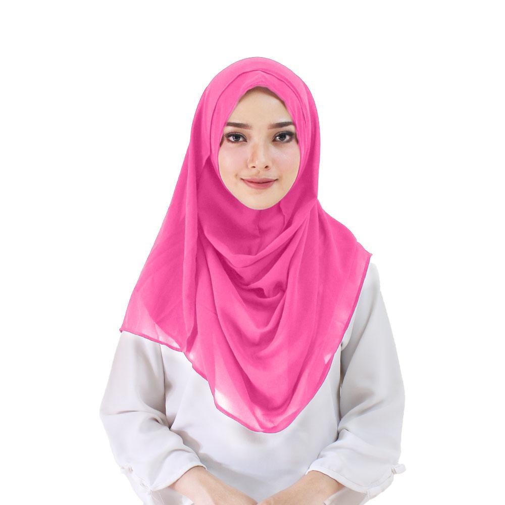Hijabku Murah Taqiya Kerudung Instan - [Warna Fanta]