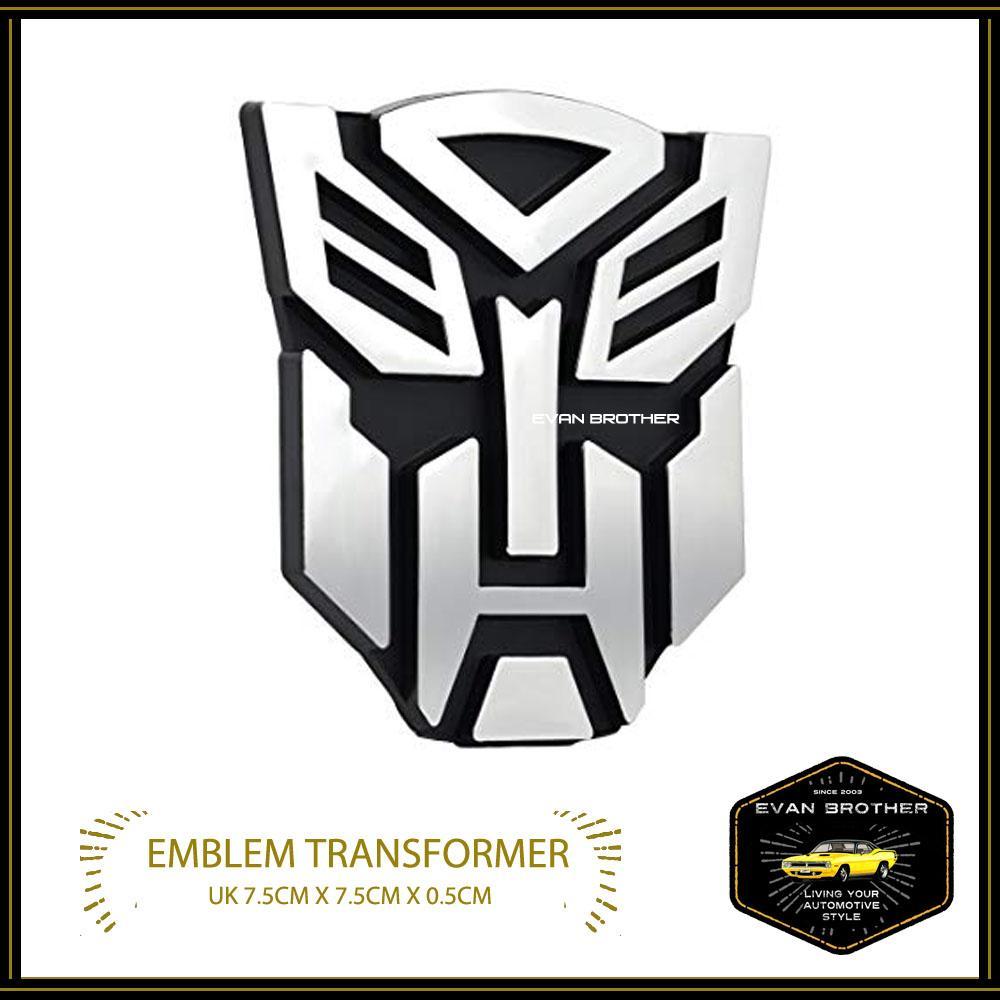 Sohoku Emblem Stiker 3D Transformer Decepticon (Silver) | Lazada Indonesia. Source · Emblem