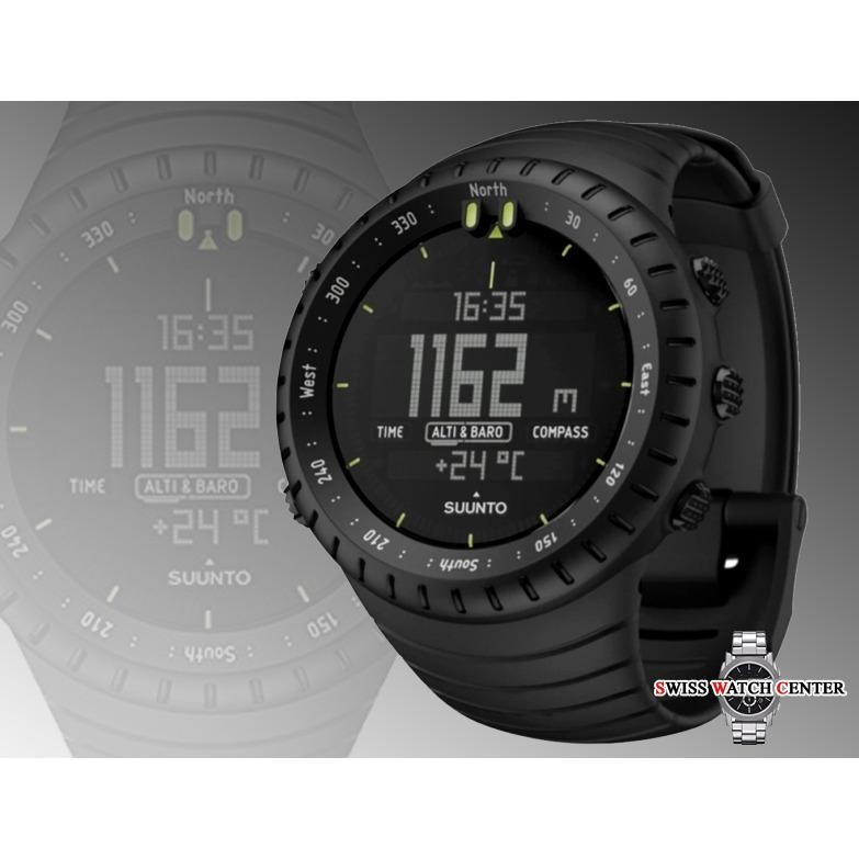 Review Suunto Core All Black Military Jam Tangan Sport Pria Cowo Rubber Strap Multi Fitur The Outdoor Watch Swiss Army Di Indonesia