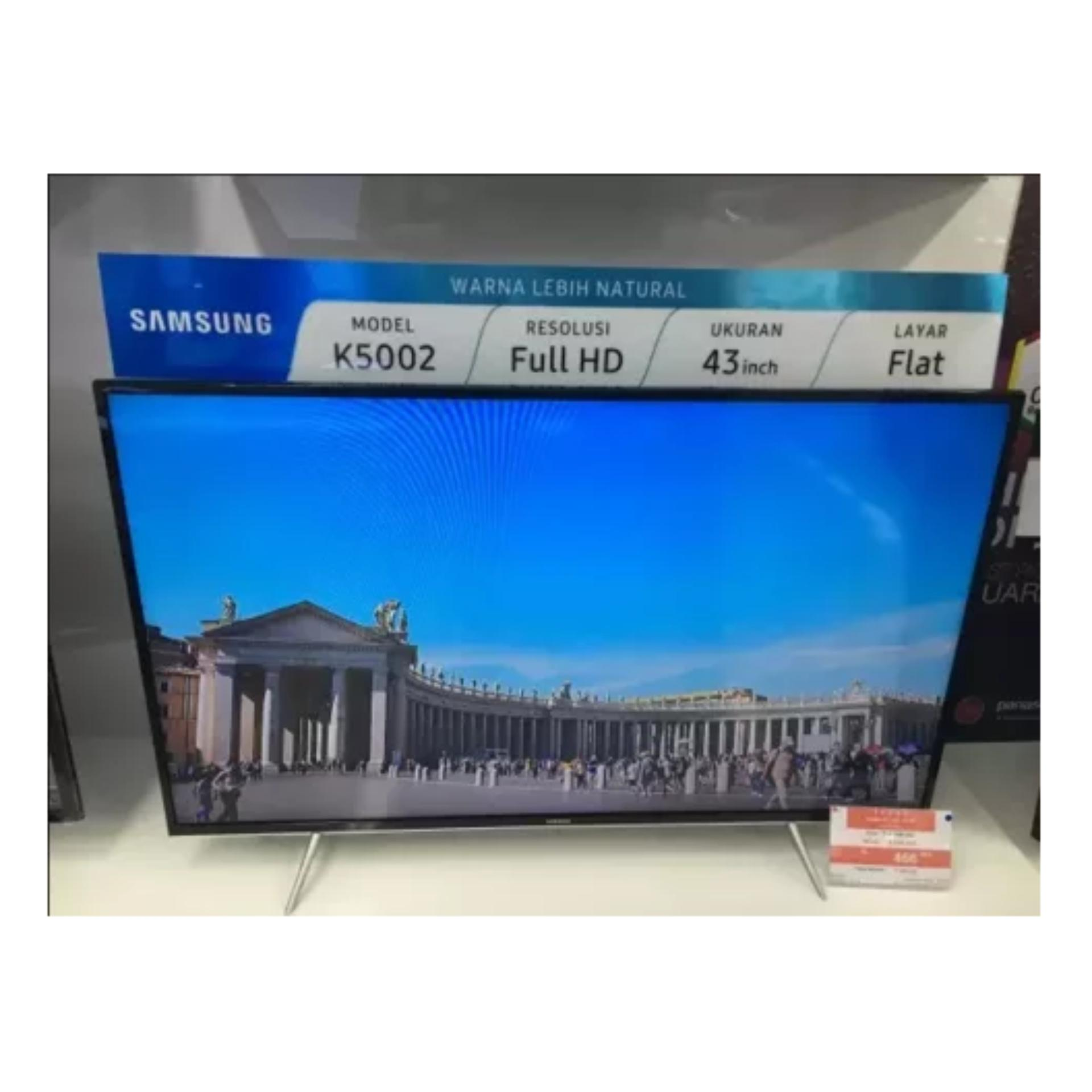 Samsung 43 inch LED Digital Full HD TV - Hitam (Model UA43K5002)