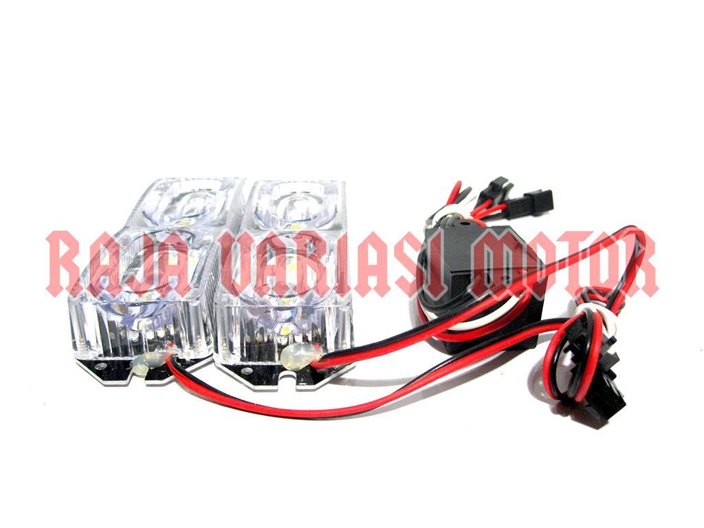Lampu Strobo Motor 2575 Flash - 3 .