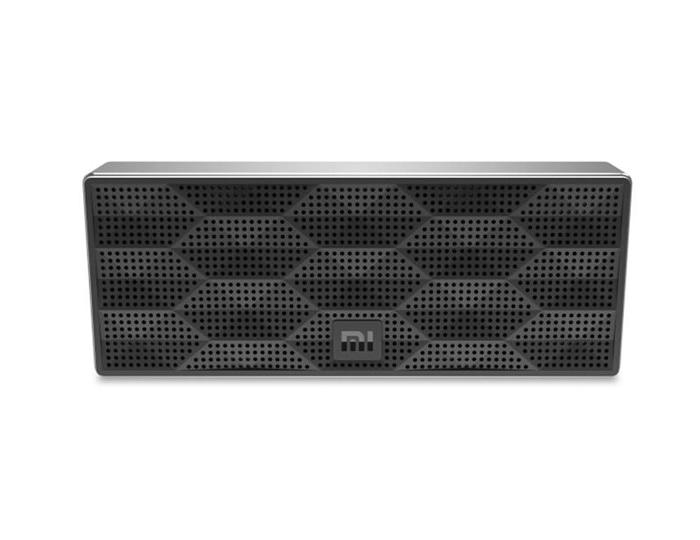 Xiaomi Speaker Bluetooth Portable Square Cube Bass Stereo - Hitam
