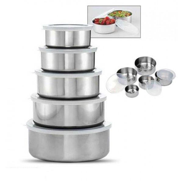 ... SYF-Shop Tempat Makan Lima Susun Rantang Makanan Stainles Anti Karat - 4
