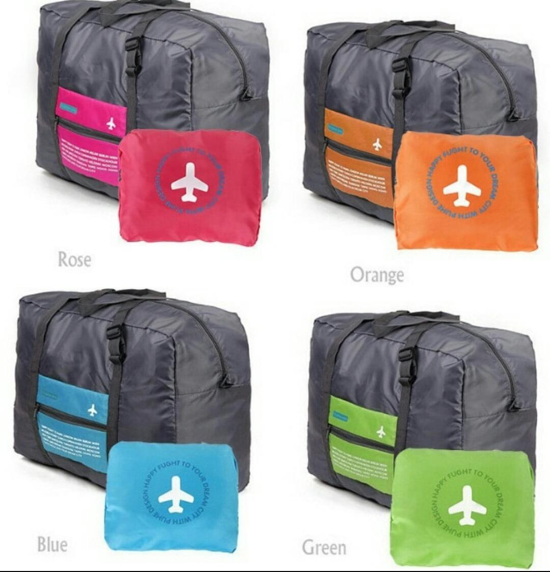 Kelebihan Tas Everyday Folding Travel Simple Bag Ringkas Multifungsi Foldable Msquare Lipat Koper Bisnis Gym 32l