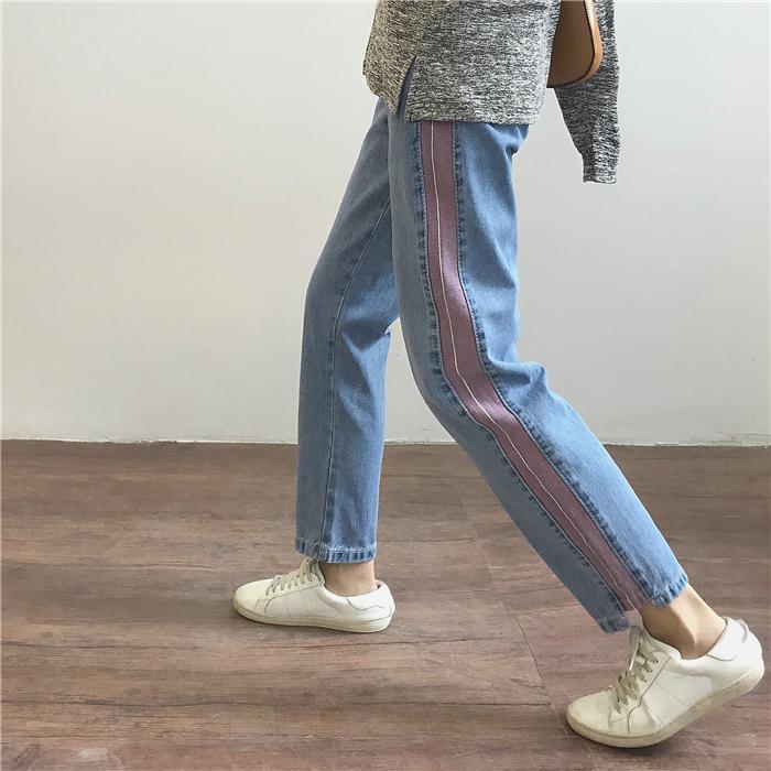 Cek Harga Baru Celana Pendek Jeans Longgar Wanita Gaya Korea Terkini