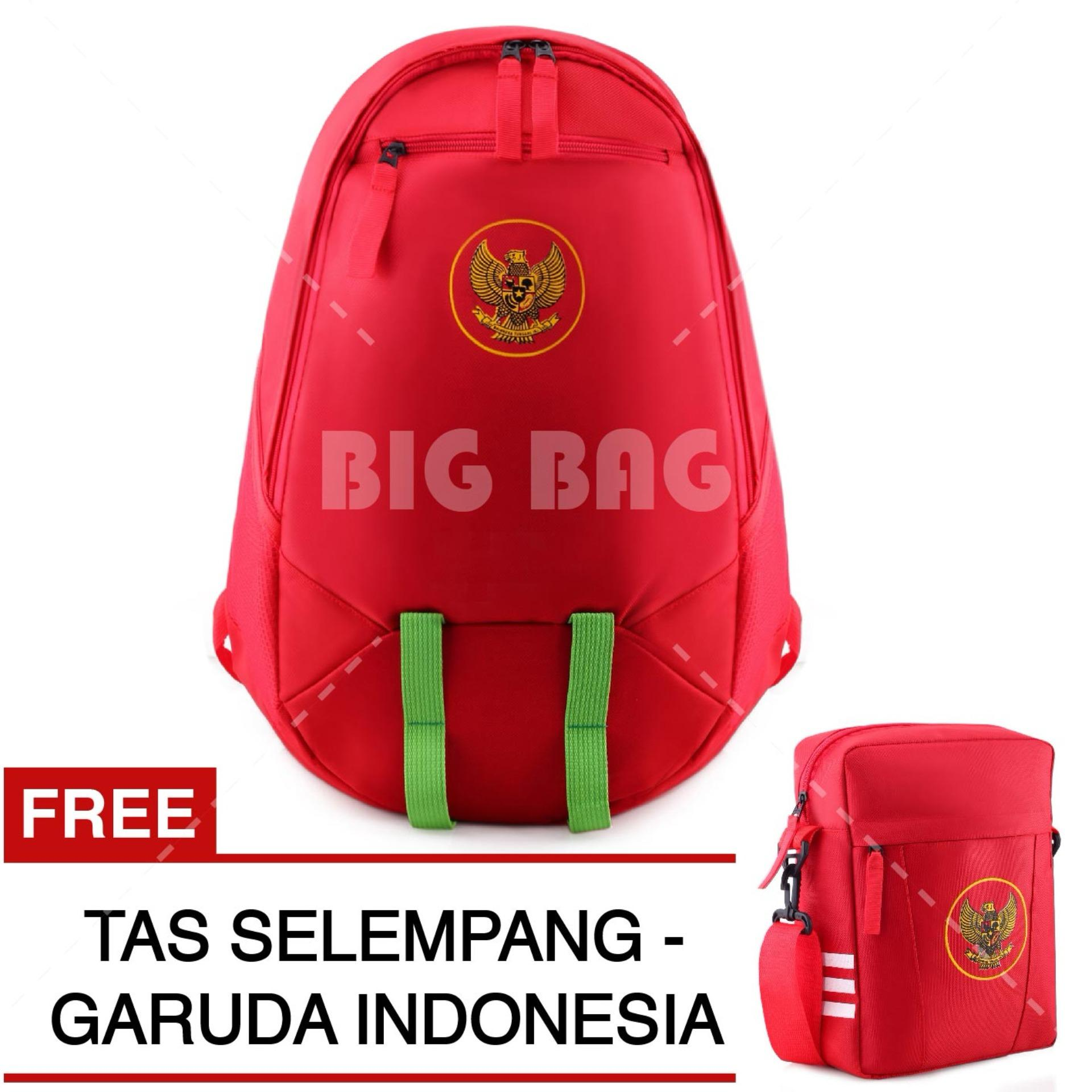 Harga Tas Ransel Bola Pria Garuda Indonesia Laptop Backpack Men Soccer Editions Red Free Tas Selempang Garuda Indonesia Red Fullset Murah