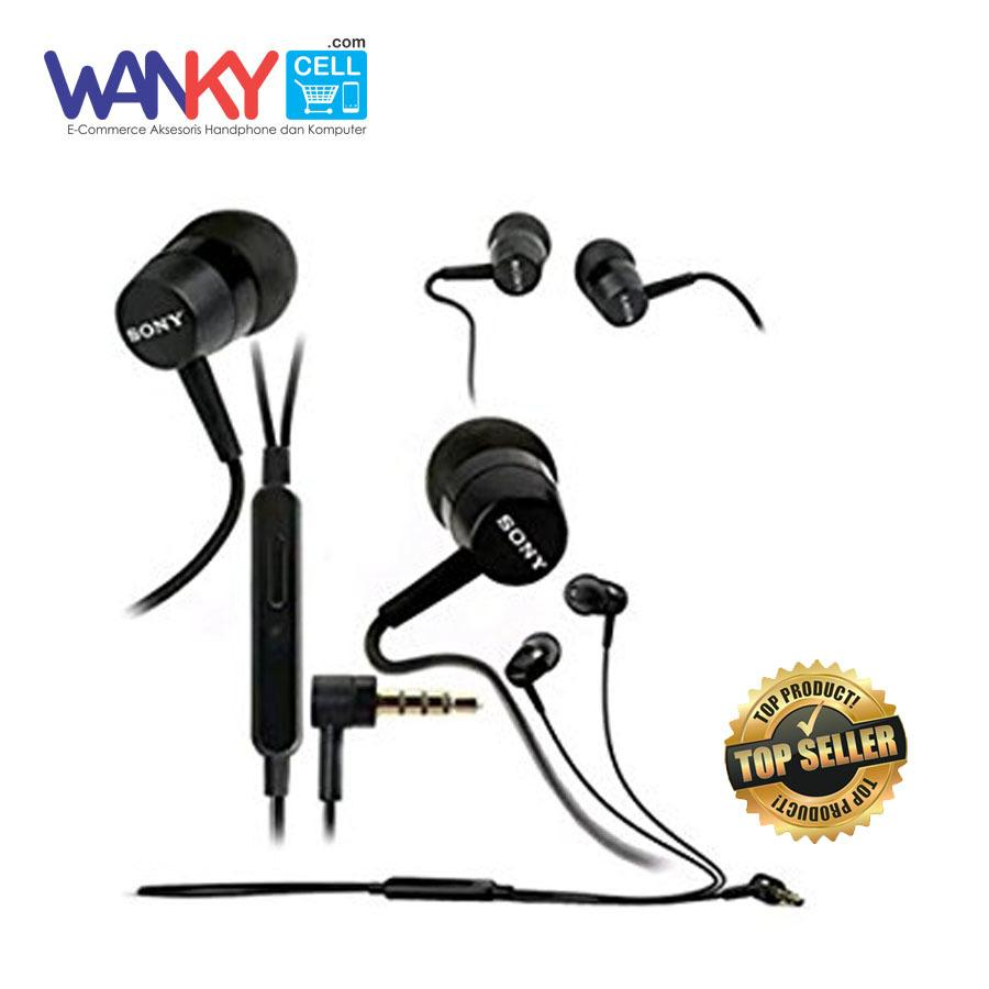 Fitur Hippo Hop Headset Earphone Handsfree Stereo Bass For Iphone Xiaomi Smartphone Wanky Sony Mh750 Super Oppo Samsung Vivo