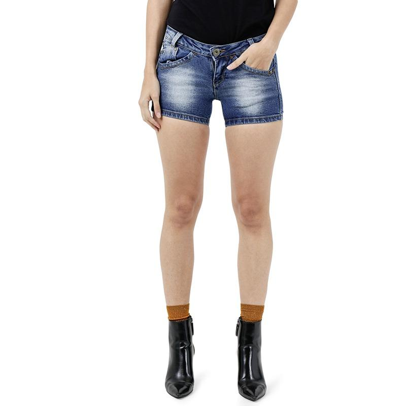 Short Pants Jeans Denim Mobile Power Ladies - H5527