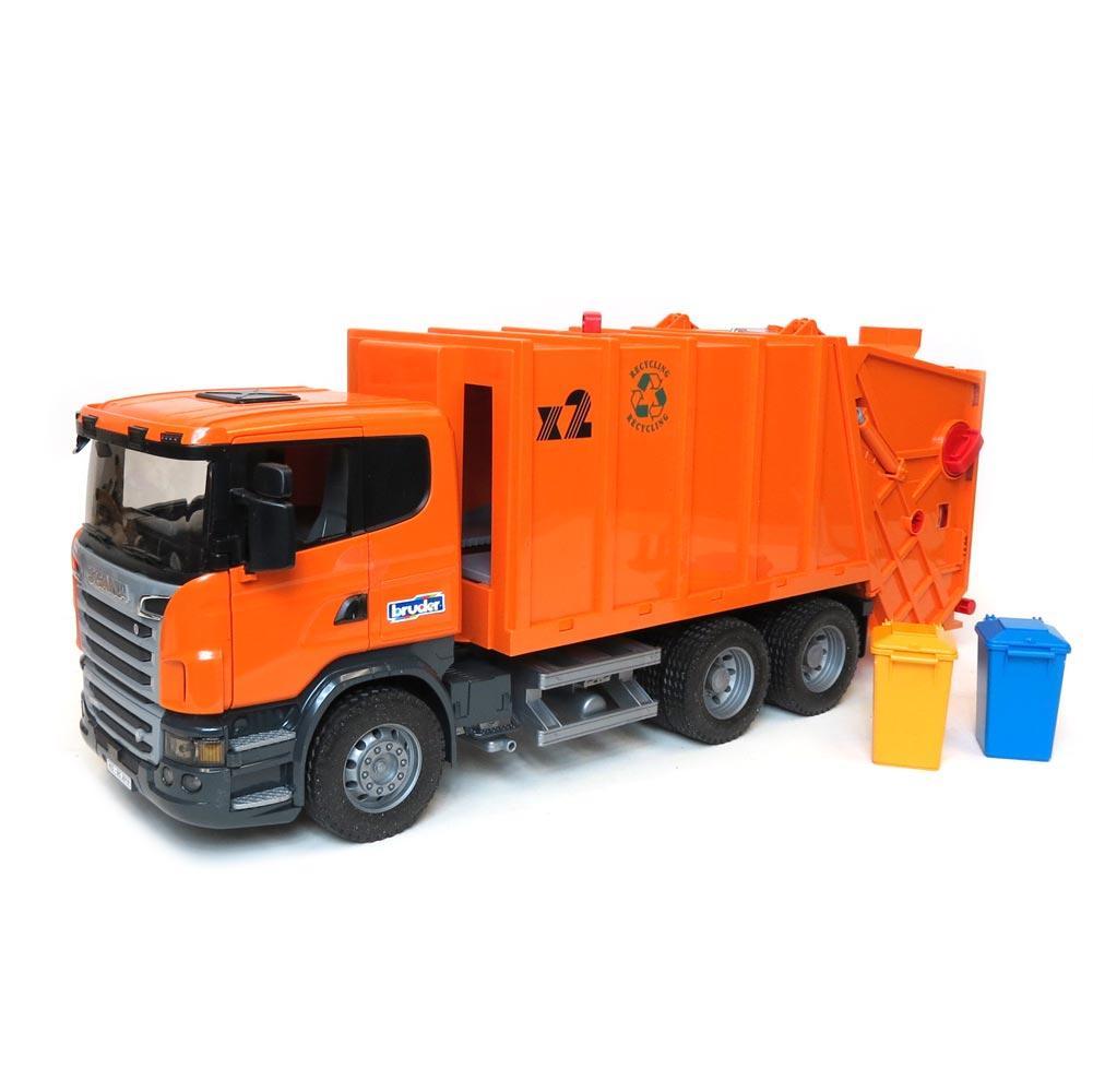 ... Bruder Toys 3560 - Scania R-Series Garbage Truck - 4 ...