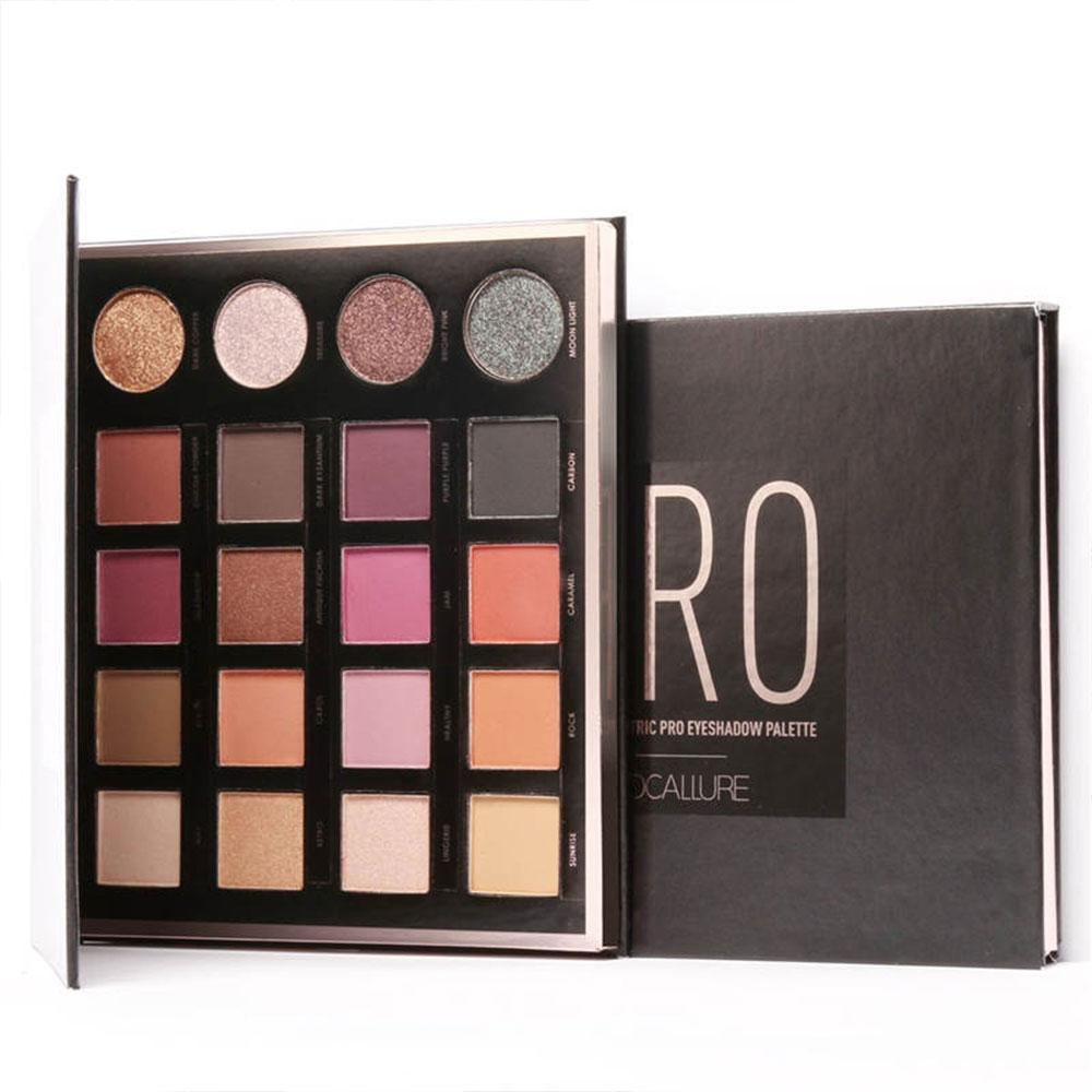 (Focallure)Natural 20-Colors Eyeshadow Palette Pro Eye Shadow Powder Glitter Shimmer Powder