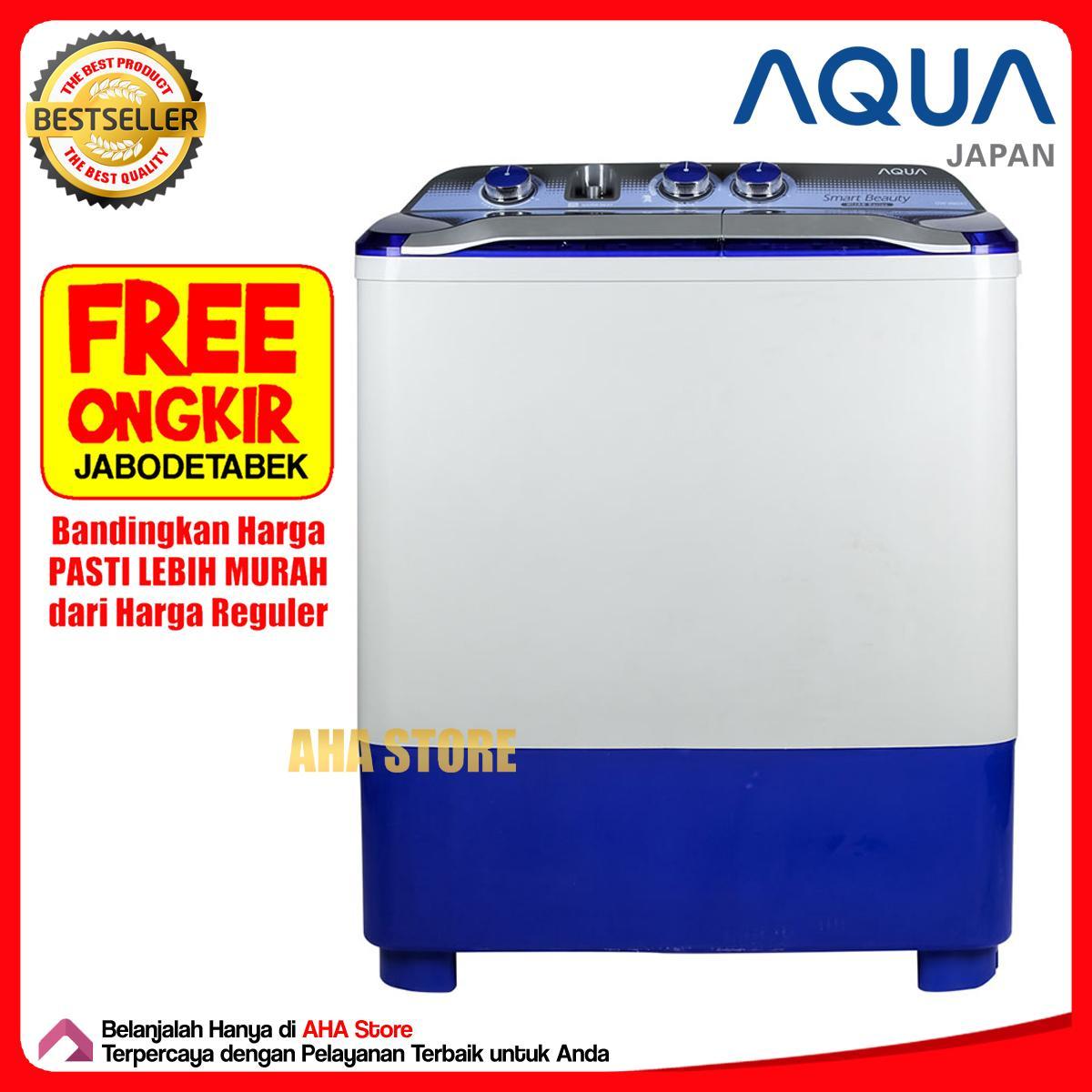Kelebihan Aqua Aqw89xtf Mesin Cuci Top Loading 1 Tabung Gratis 2 9kg Qw980xt Putih Free Ongkir Jabodetabek 8 Kg Qw 880xt