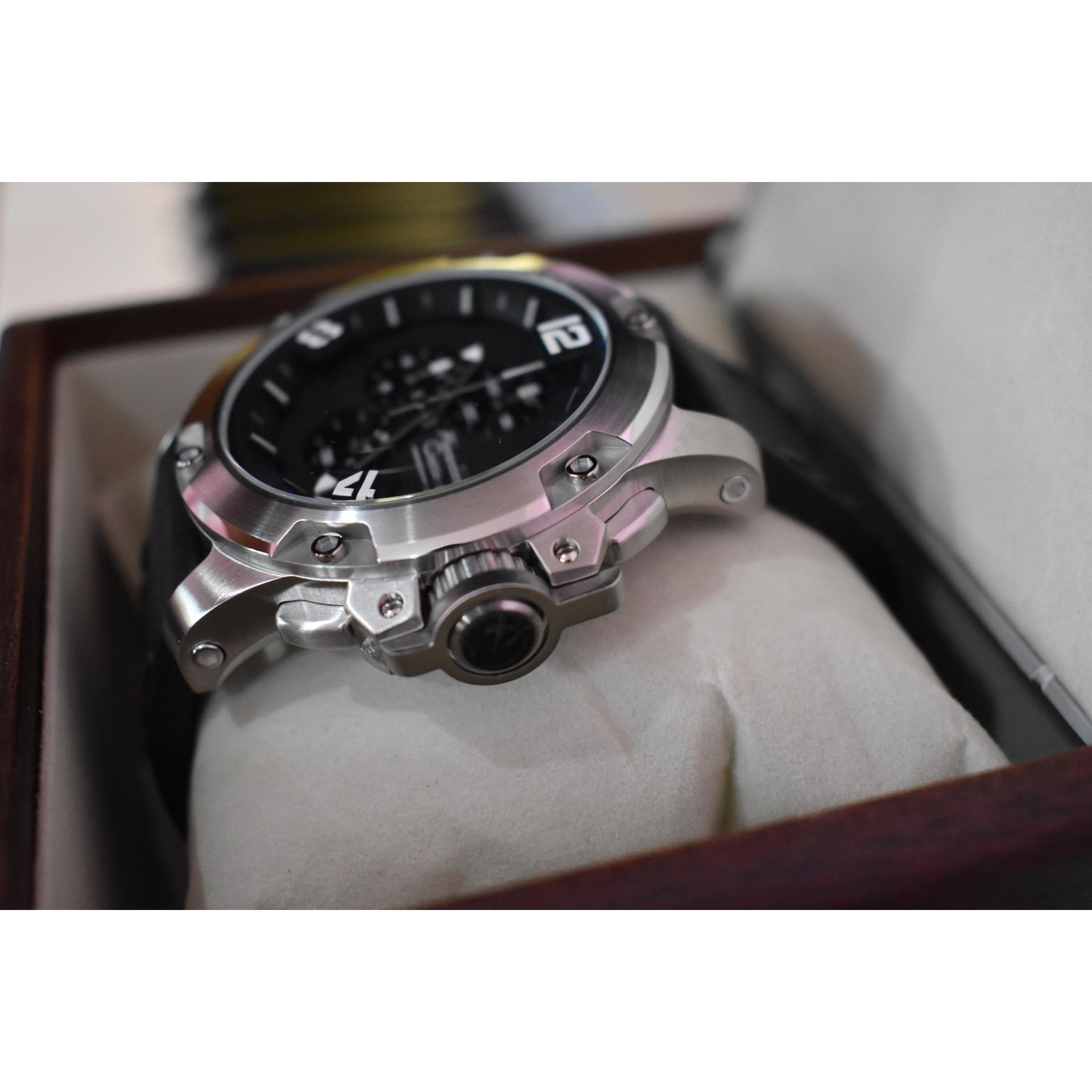Fitur Jam Tangan Alexandre Christie Ac 6295 Mc Ac6295 Silver Black 6141 Full Original Leather 3