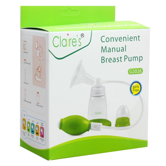 Pompa Asi Manual Claire's / Claires / Manual Breast Pump G2026 100% Original