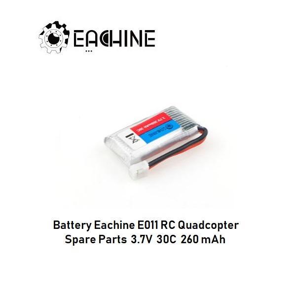 Battery Eachine E011 Spare Parts 3.7V 35C 260mAh Original - 2