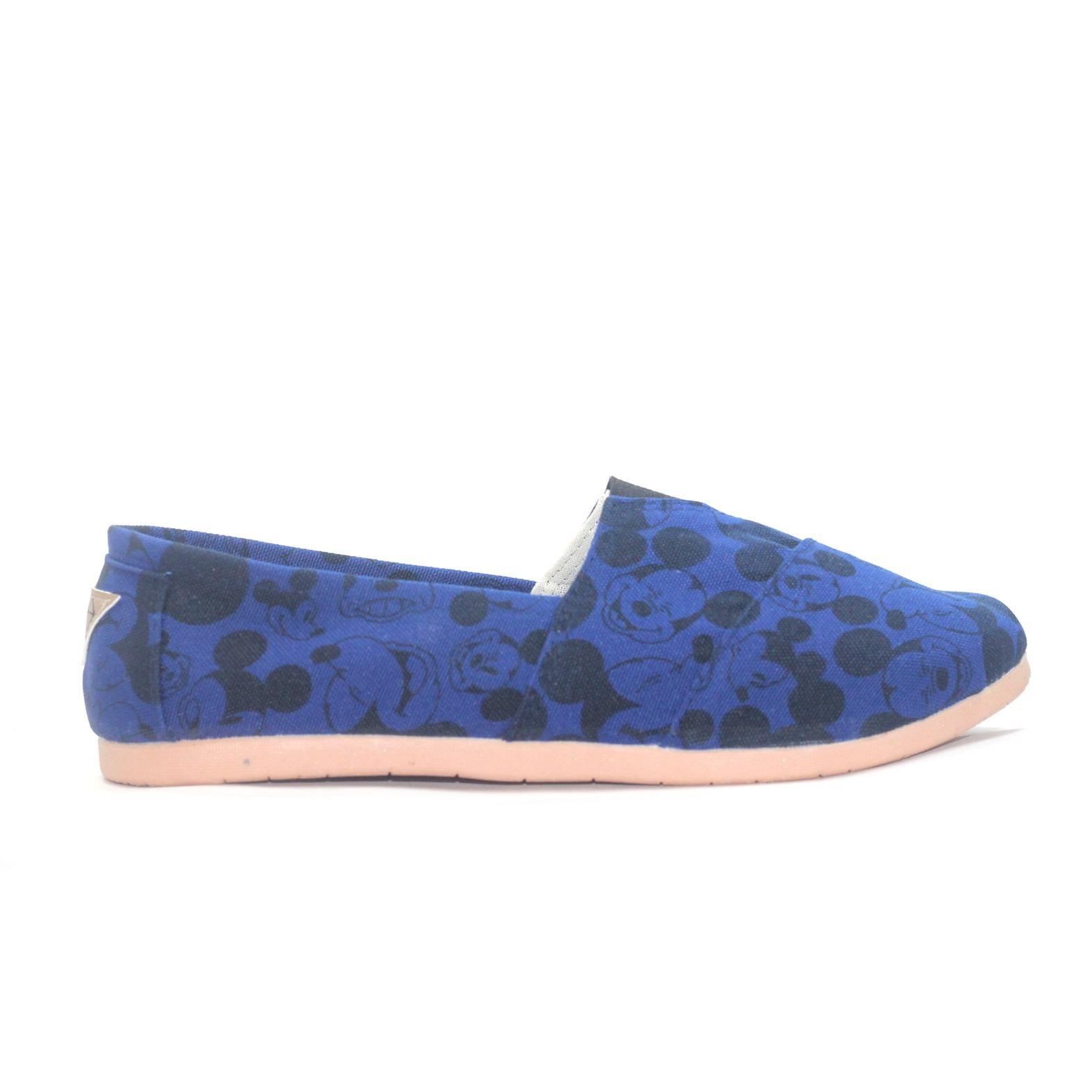 JRC sepatu wanita flatshoes slipon disney mickey model toms / wakai