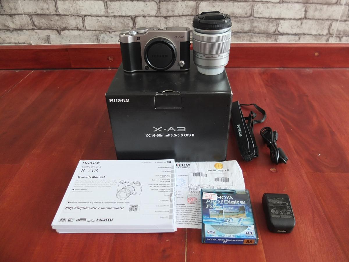 Kelebihan Fujifilm Xt 20 Double Kit 16 50mm 50 230 Mm Black Xt20 Silver X T20 Hitam A3 242mp