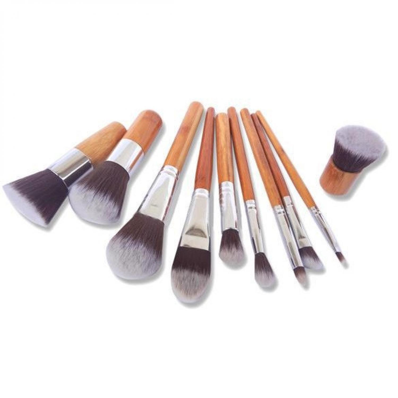 Kelebihan Vienna Linz Brush Kuas Make Up Cosmetic Professional Set 11 With Pouch