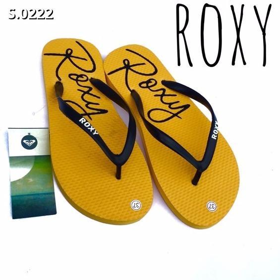 Sandal Roxy Cewe - Kuning