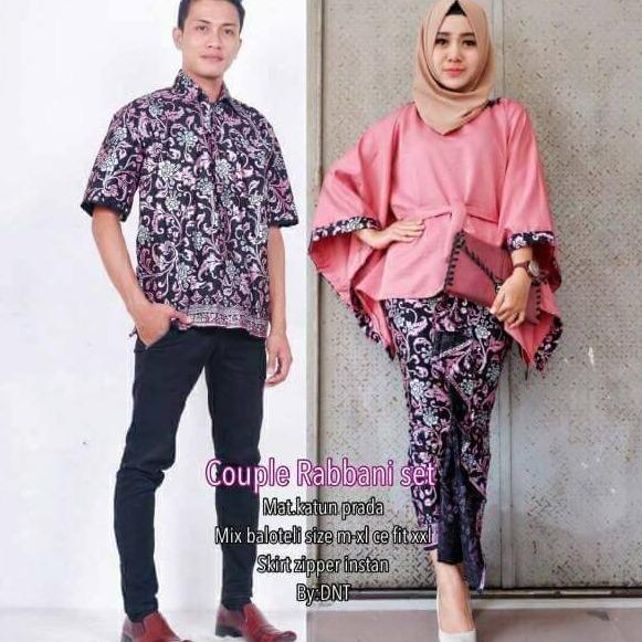 Spesifikasi Termurah Batik Couple Rabbani Pink Batik