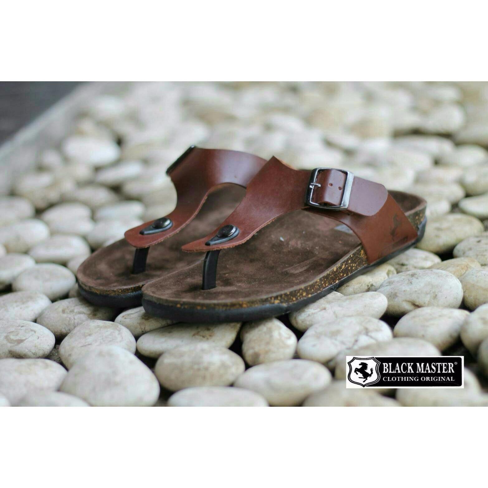 Jual Beli Sandal Pria Kulit Sandal Flip Flop Pria Sandal Original Jawa Barat