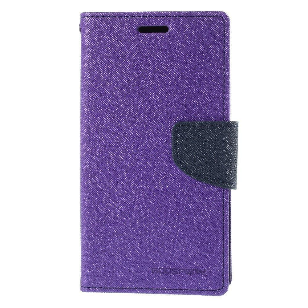 Mercury Fancy Diary Case for LG G6 - Purple/Navy