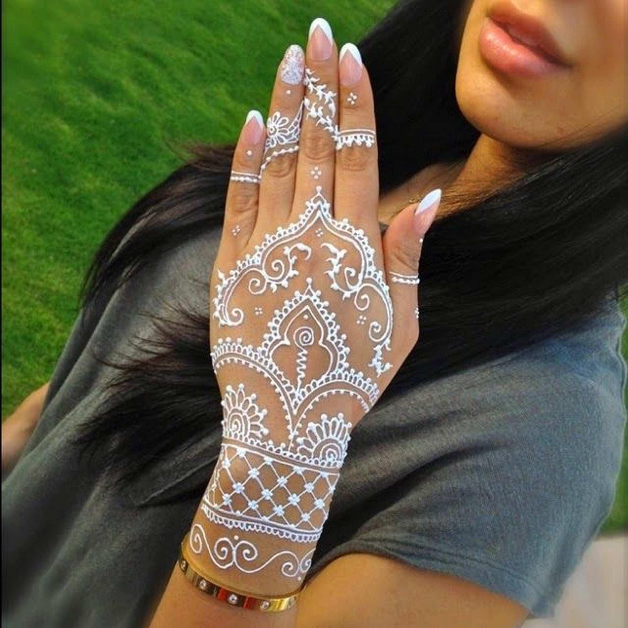 Fitur Cetakan Tangan Kaki Henna 1 2 Lusin Isi 6 Lembar Dan Harga