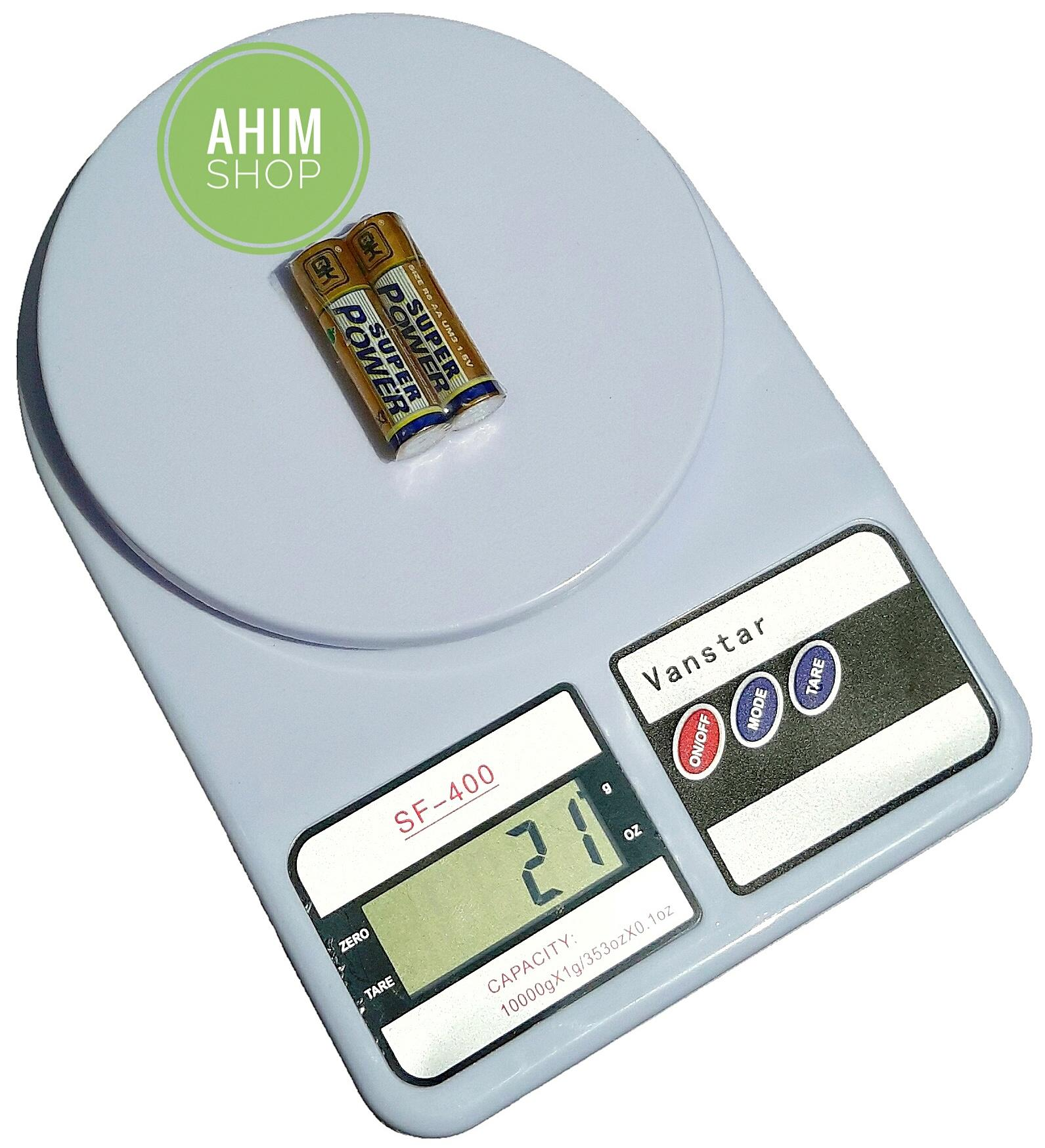 Review Timbangan Dapur Digital Vanstar Sf 400 Max 10 Kg 10kg Max10 Electronic Kitchen Scale