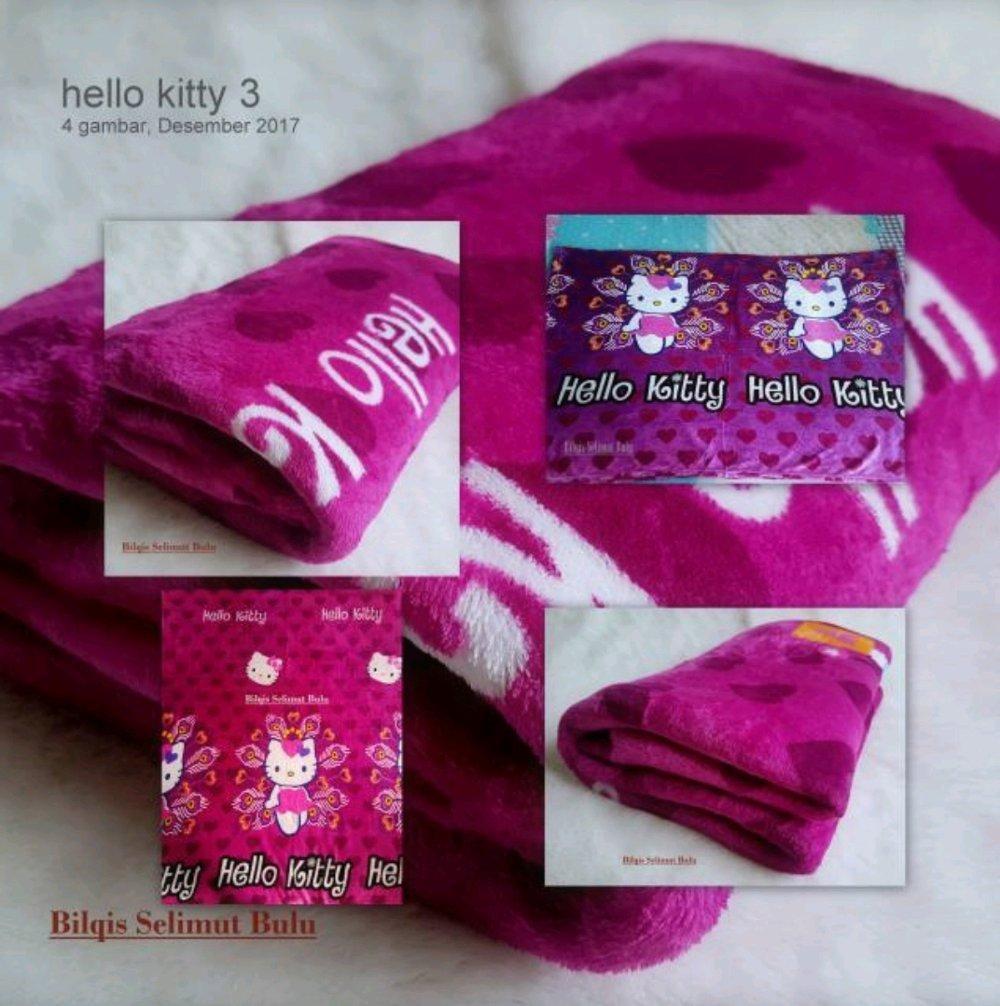 Lihat Selimut Bulu Murah Anak Dewasa Karakter Hello Kitty Ungu Cewek Halus Cowok Lembut Hangat Di Lapak Bilqis