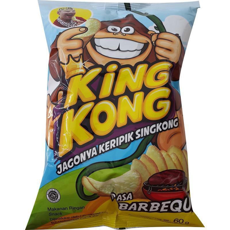 KINGKONG Keripik Singkong Barbeque 60g