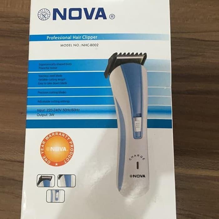 Cek Harga Baru Cukur Rambut Portable Merk Nova Nhc8002 Cas Charge ... 78d60bdff2