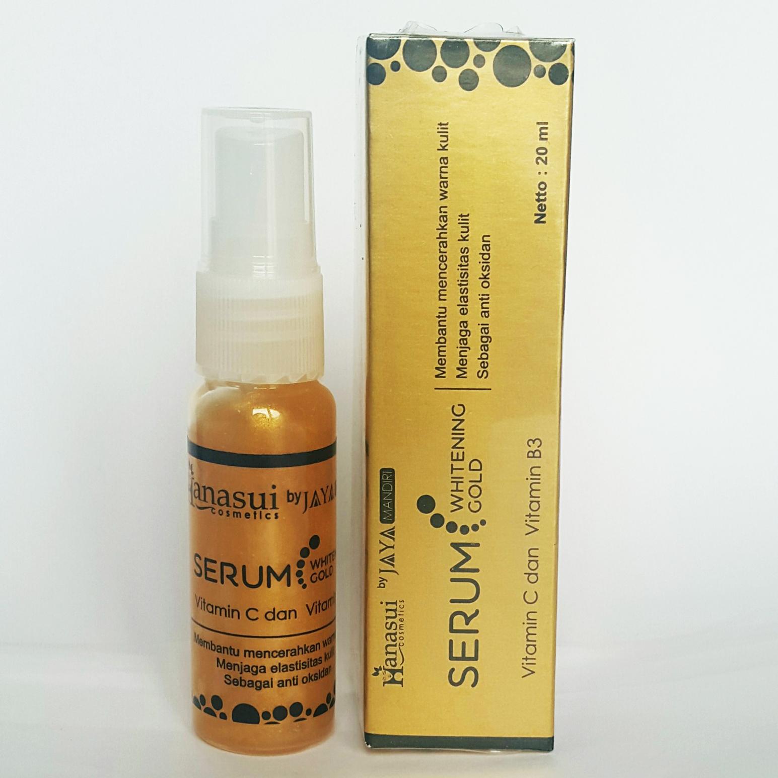 serum whitening gold jaya mandiri by hanasui
