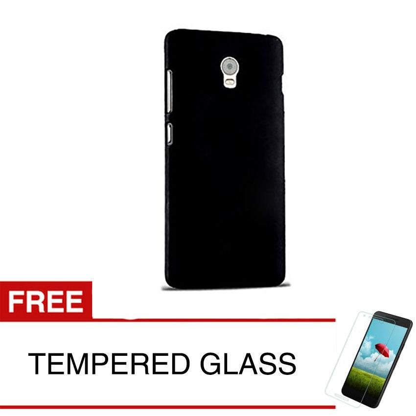 Beli Case For Lenovo Vibe P1 Turbo Slim Black Matte Hardcase Gratis Tempered Glass