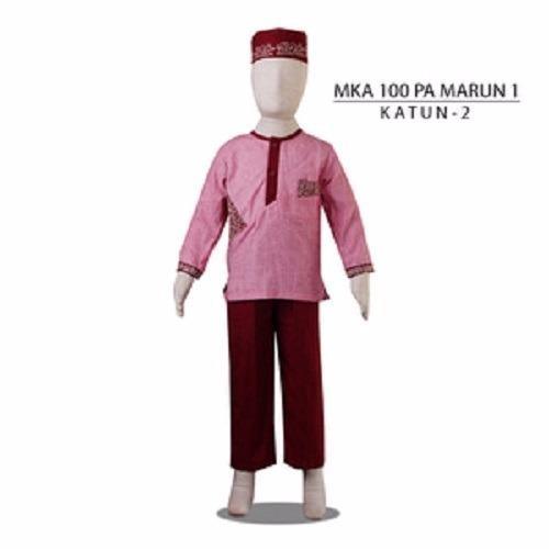 MKA100PAMarun1(11-13tahun) baju koko anak gambar kartun