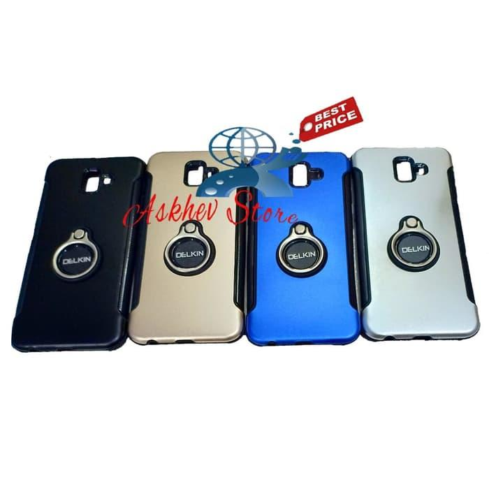 Features Case Slim Black Matte Compatible For Samsung J6 J6 Plus