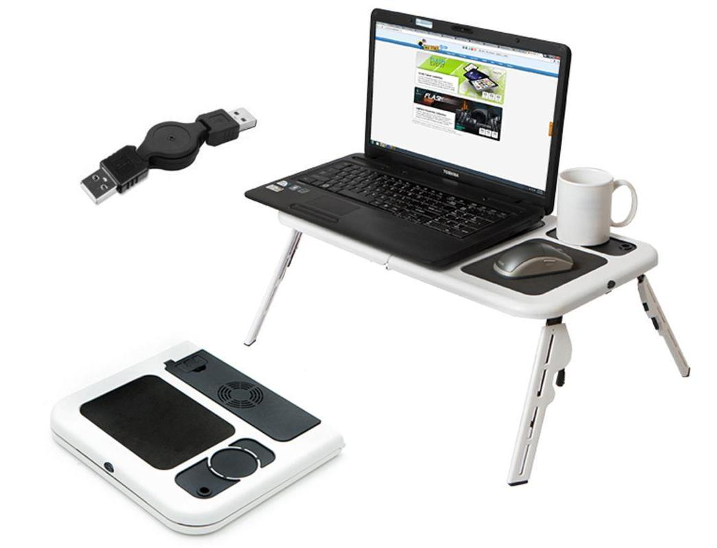 E-Table Meja Laptop Portable