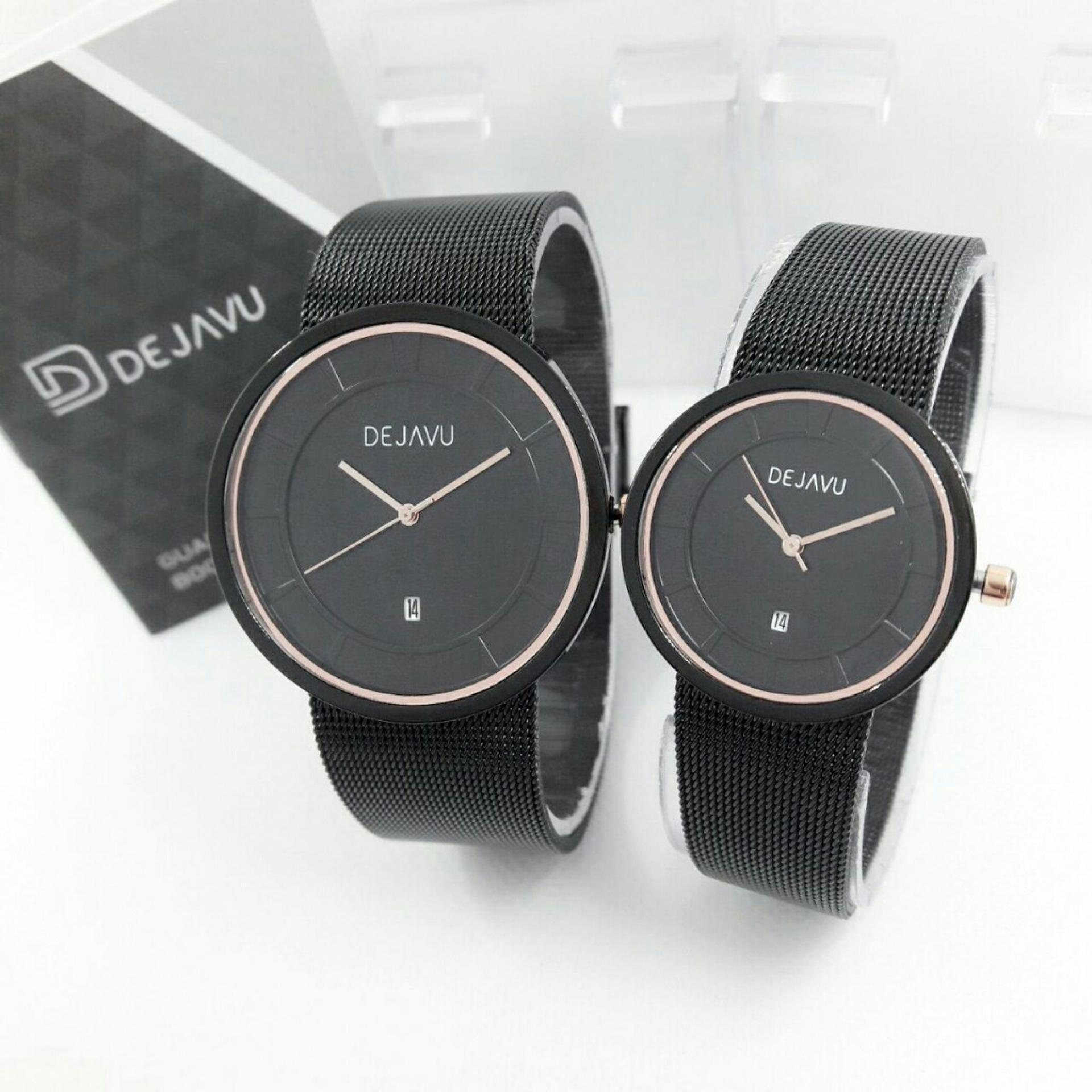 Dejavu DJ5019OS Original Watch - Jam Tangan Couple - Strainless Strap Design PasirIDR647500