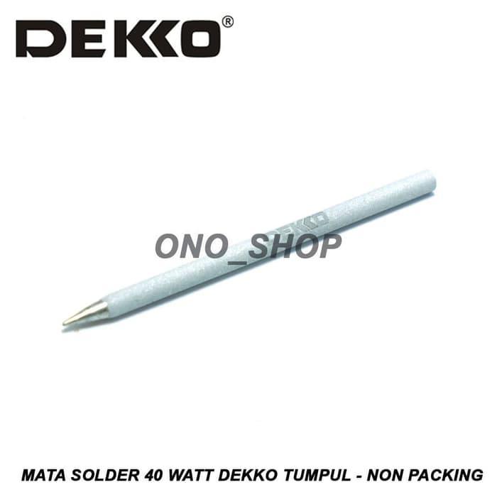 Mata Solder 40 Watt Dekko Tumpul - Non Packing