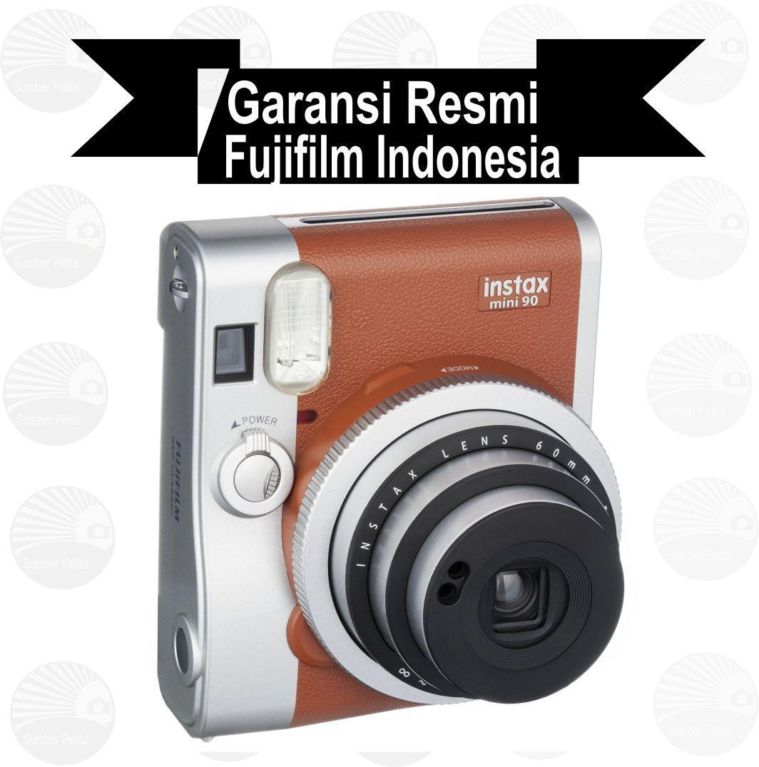Kelebihan Fujifilm Instax Mini 90 Neo Classic Brown Terkini Daftar 8 Garansi Resmi Indonesia Merah Muda