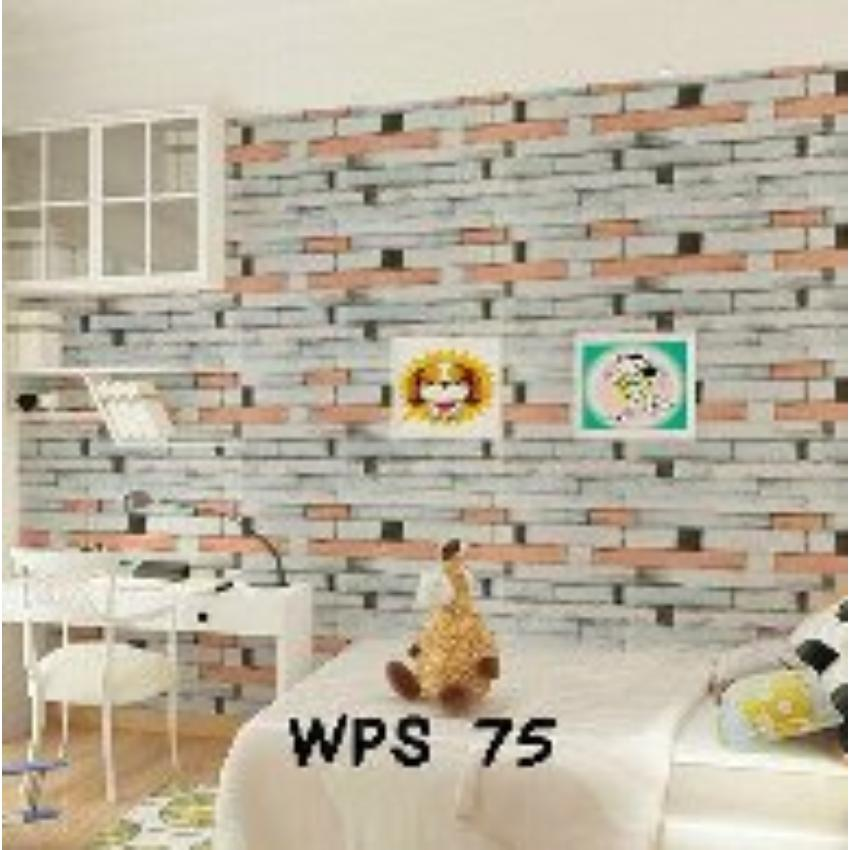 Detail Gambar NEW -Wallpaper Sticker Dinding (Size 45cm X 10M) - Stiker Walpaper Dinding Terbaru