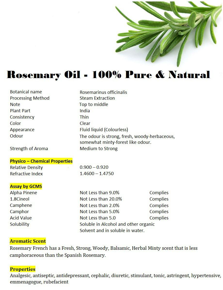 5ml Rosemary Essential Oil / Minyak Rosemary 100% Alami - 2