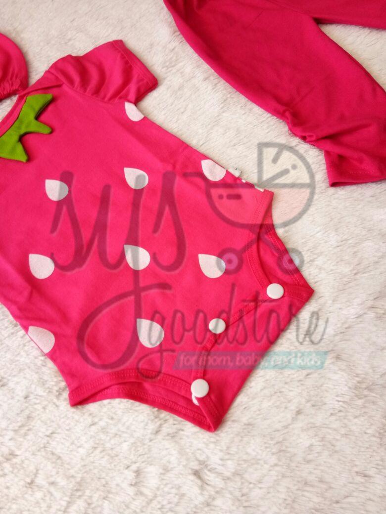 Fitur Sysgoodstore Setelan Jumper Bayi Strawberry Legging Good Baju Dragonball Detail Gambar Quality Laki