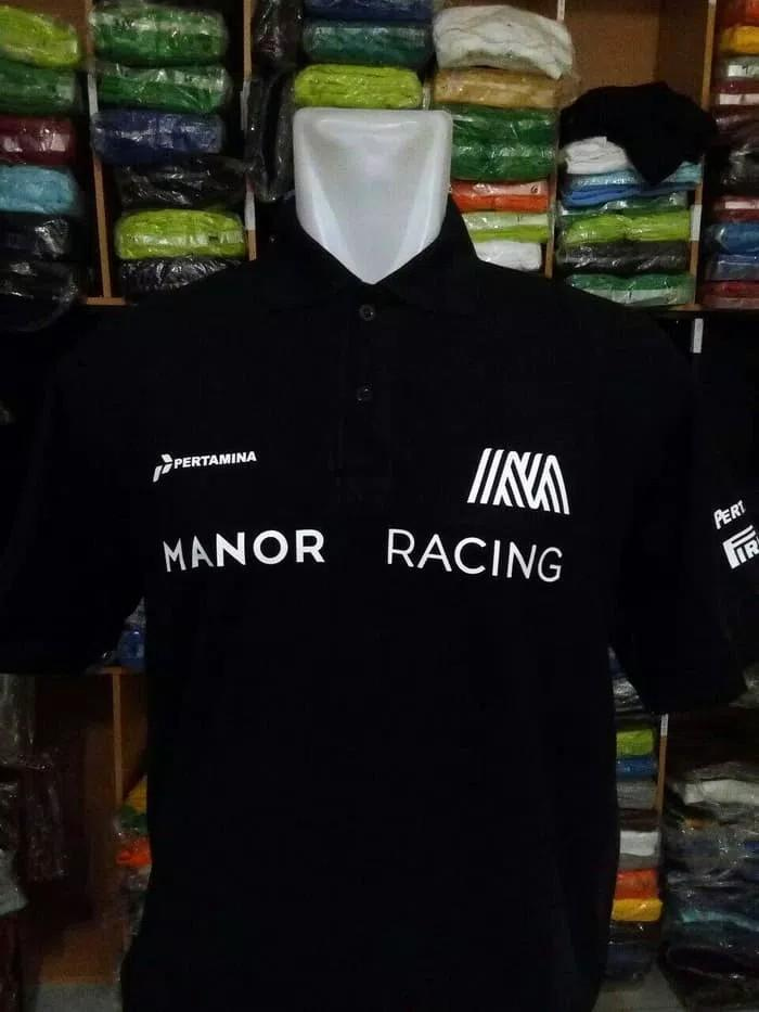SEVEN CUSTOM - KAOS KERAH POLO SHIRT PERTAMINA MANOR RACING