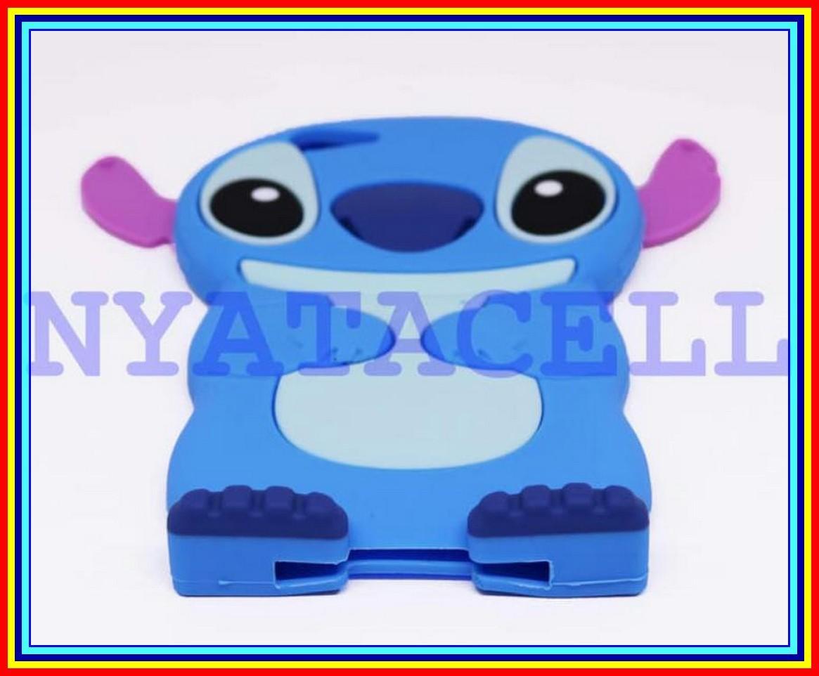 Case 4D Stitch Oppo A83 Karakter Lilo Ear Softcase Soft 3D - Biru - 2 ...