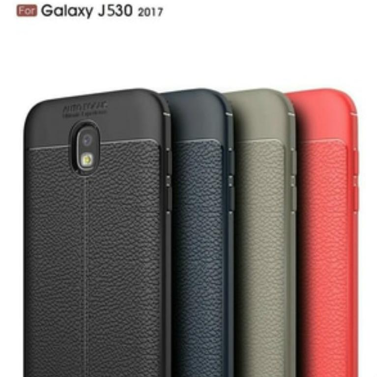 Autofocus Case For SAMSUNG GALAXY J5 PRO Back Cover Luxury Silicone Leather Look TPU SOFT