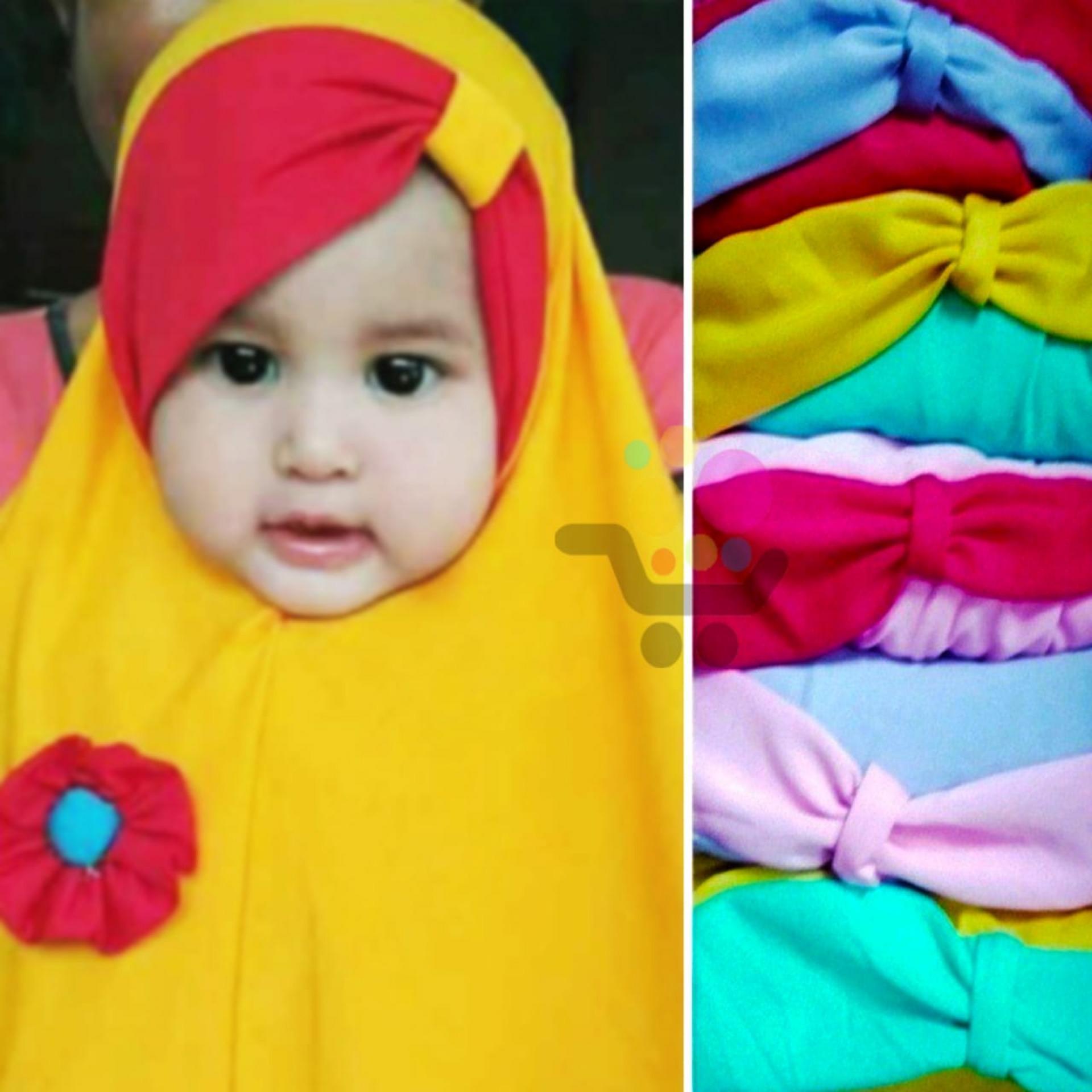 Fitur Kerudung Anak Bayi Salsa Jilbab Anak Bayi Jilbab Bayi Hijab