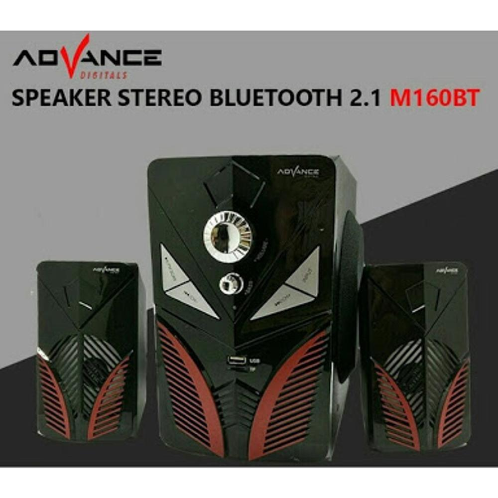 Harga Speaker Bluetooth Mp3 Advance M160Bt Baru Murah