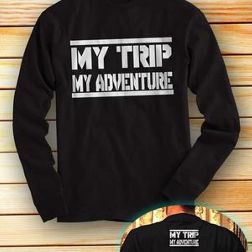 Kaos Baju Distro MTMA #1 Lengan Panjang (My Trip My Adventure Long Sleeve) Newotdesign