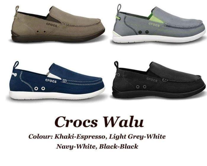 Sepatu Crocs Walu Men / Pria slip on murah - y8CPDZ
