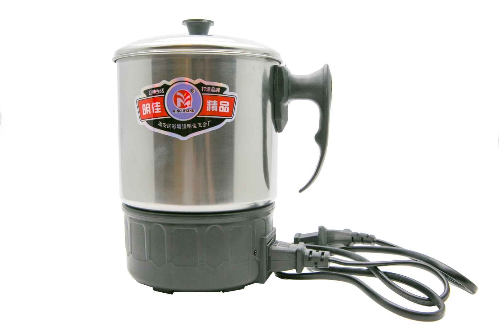 Kelebihan Gelas Masak Pemanas Listrik Stainless Turbo 300 W 13 Cm Electric Heating Cup Q2 11cm Teko Mug 14 Gpl14